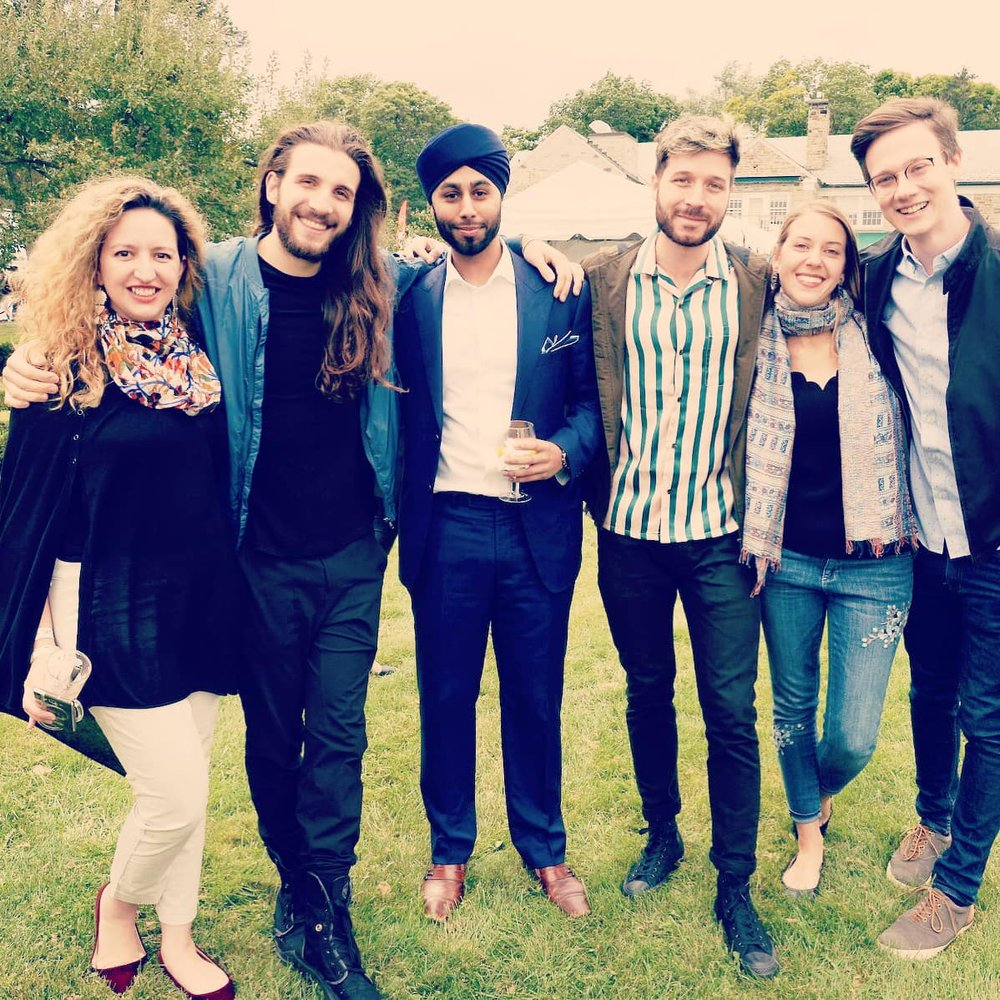 With Fellow Canadian Film Centre Composers - 2018 .jpg