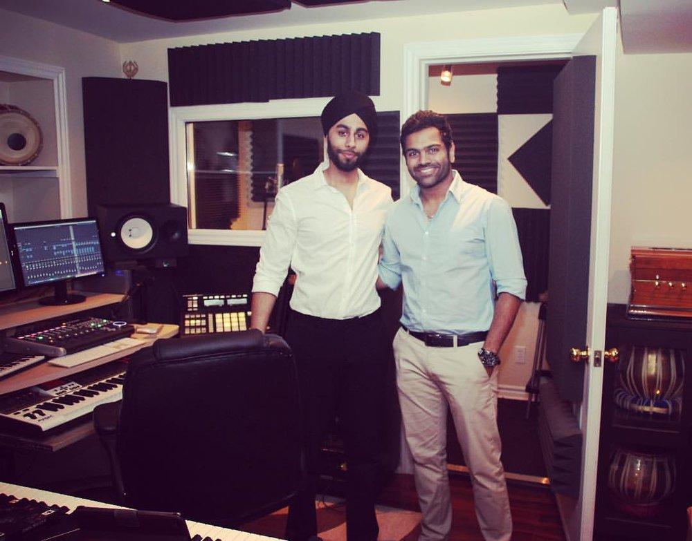 with Sreeram Chandra - My Studio.jpg