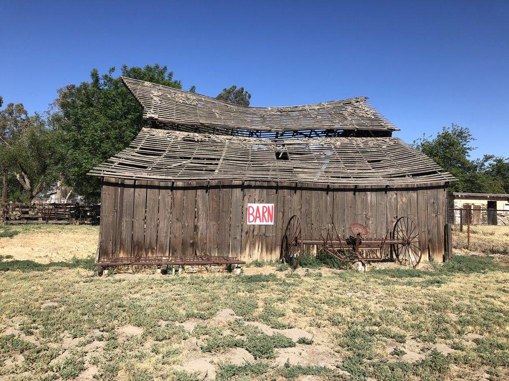 Barn near Lemoore, Central Valley