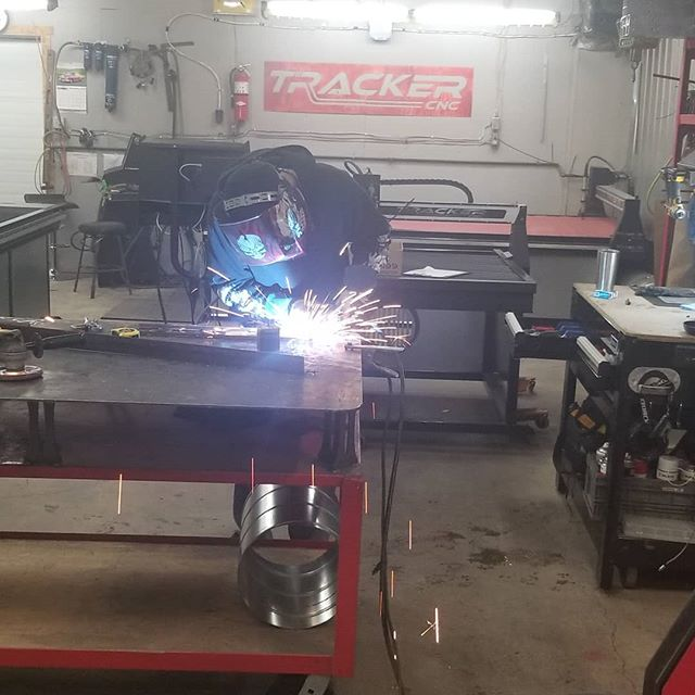 Always innovating at TrackerCNC! Labour of love.... #respectthecut