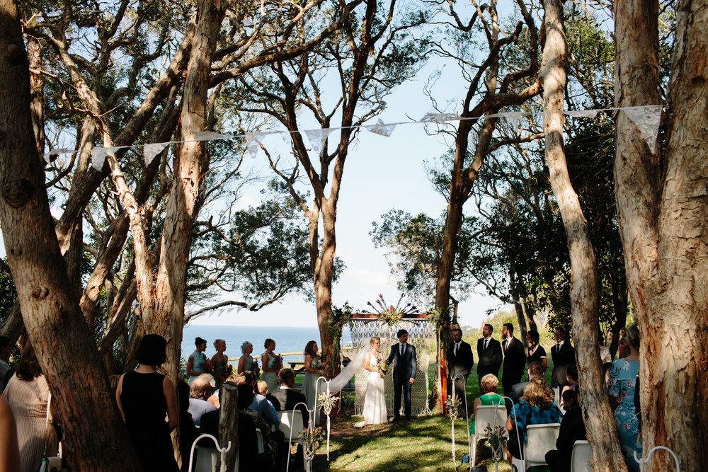 Wedding ambience - If your planned ceremony is set in nature, we can take care of the additional styling set up. We can take care of the decor installation or provide the ingredients for you to take a more DIY approach.