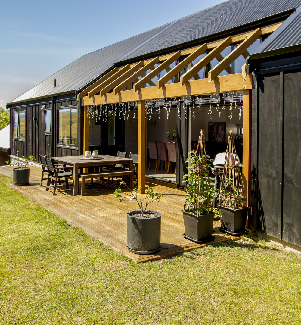 Outdoor Living  - Through large bifold doors the sun drenched outdoor living area is a perfect extension of the indoor living.
