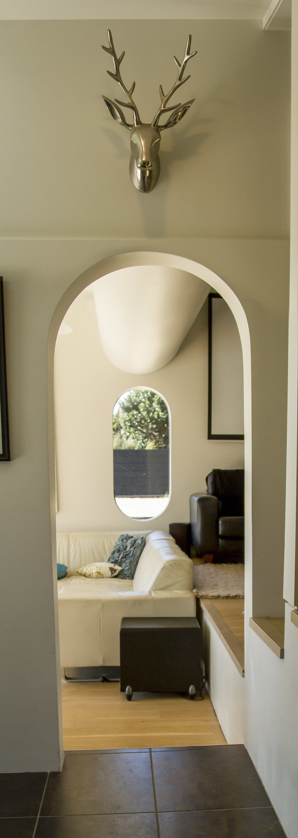 Arches  - Some of the original arches and curved features have been kept as a nod to what was before.