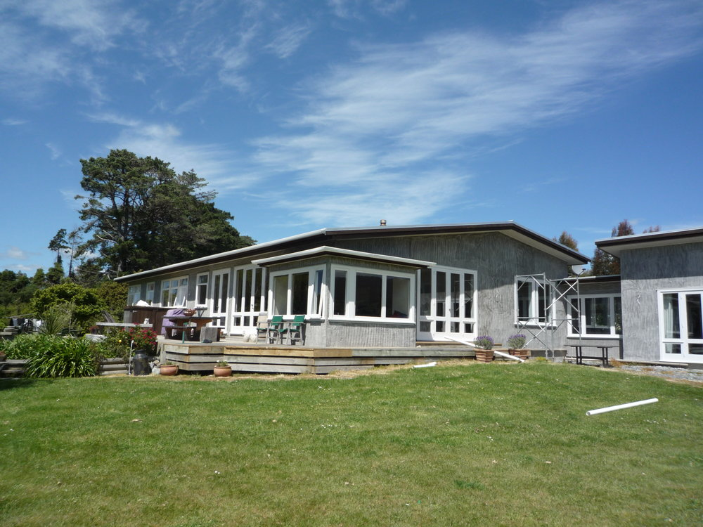 Wairarapa House Alterations - Major alterations and additions to an existing Wairarapa farm house, included a new master bedroom wing and garage as well as refurbishing the kitchen and dining area. Janine worked closely with the clients to achieve the results they...  more