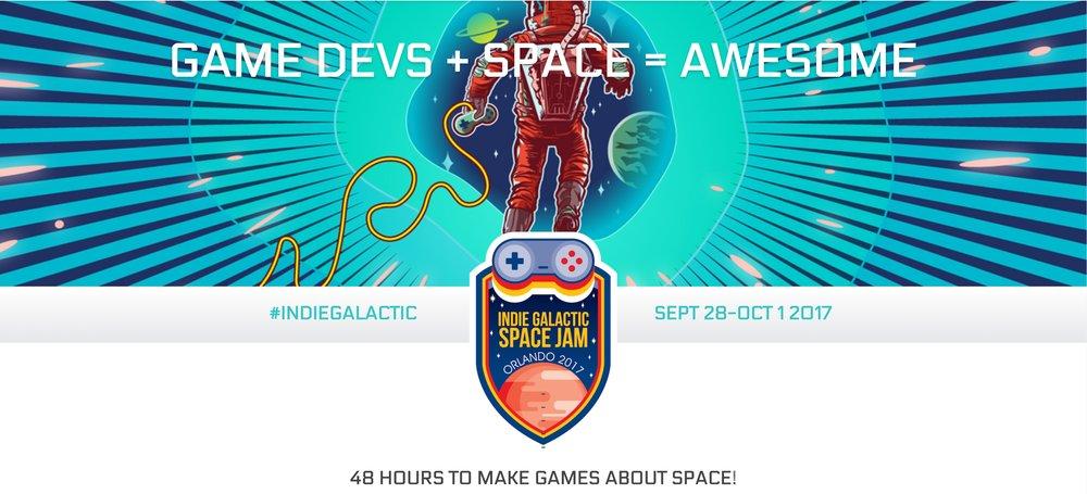 Indie Galatic Space Jam Space Hackathon