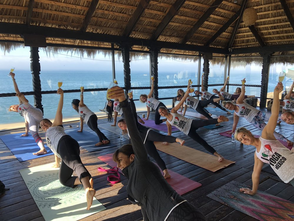 iHeartyoga in Mexico -