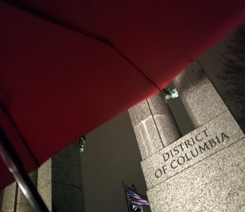 Red umbrellas are an international symbol for sex workers' rights, justice, and safety.