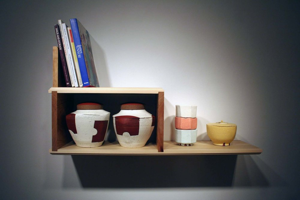 Compact Living   Ceramics and Wood