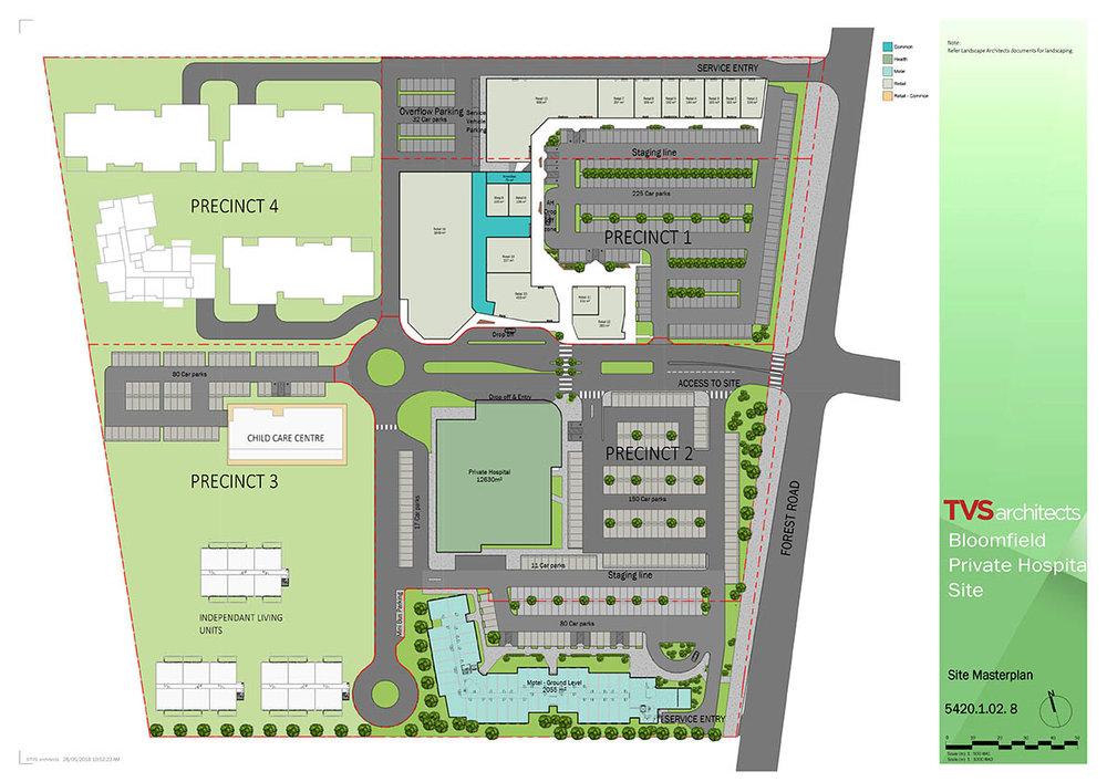 Bloomfield Medical Centre - Precinct Plan.jpg