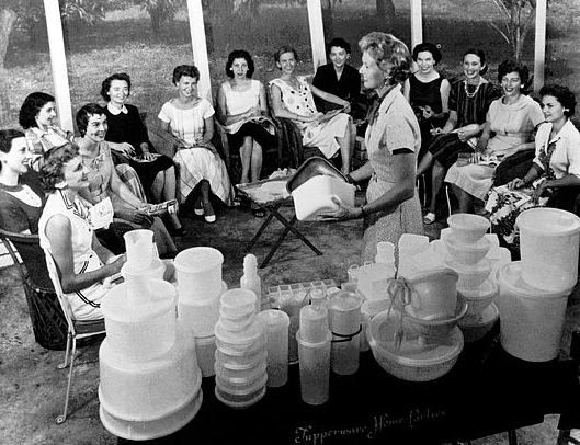 STILL KICKING MYSELF I DIDN'T RSVP TO MYRTLE'S TUPPERWARE PARTY