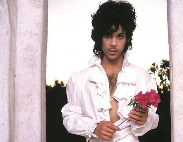 So much in common with Prince, the name, the hair and I had a similar blouse in the '80's