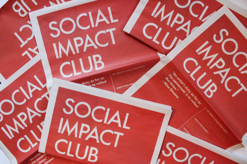 Social Impact Club Newspaper No.1