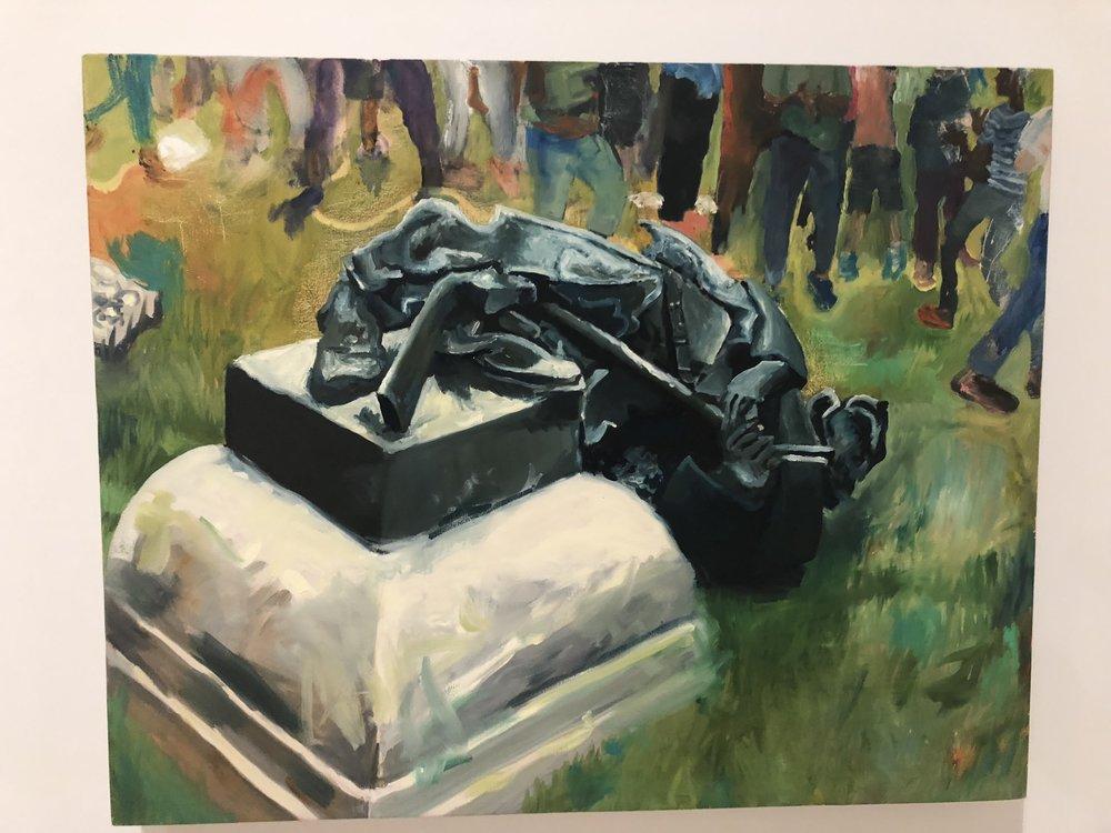 "Celeste Dupuy-Spencer, ""Durham, August 14, 2017"""