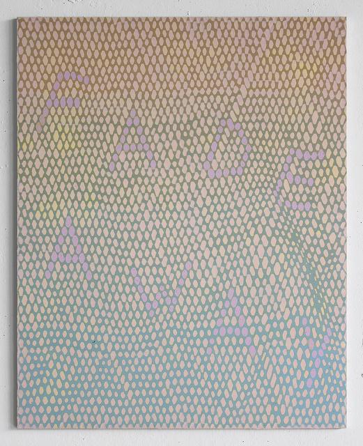 FADE AWAY  , Acrylic and enamel on ACM panel, 2016