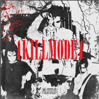 "Above is the cover art of "" #KILLMODE "" by Paqrat."