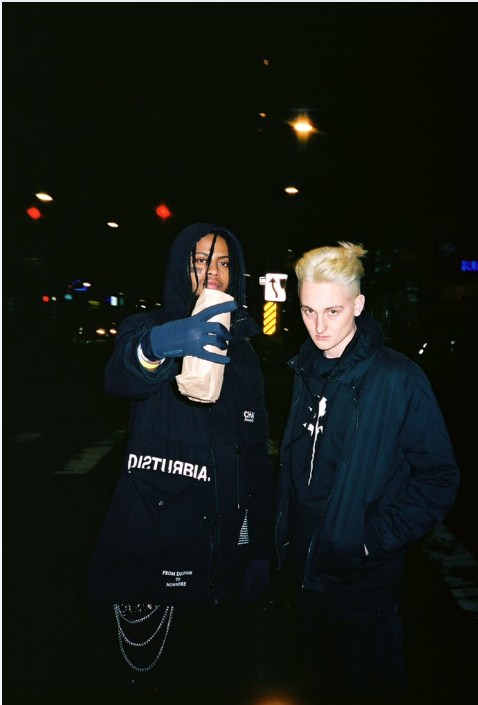 Above is a photo of omenXIII and guccihighwaters by Nathan Copes. This is one of Nathan Copes favorite photos as referenced.