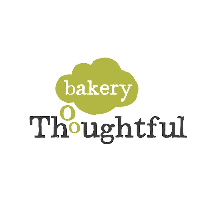 Thoughtful Bakery copywriter, rebrand, branding, signage