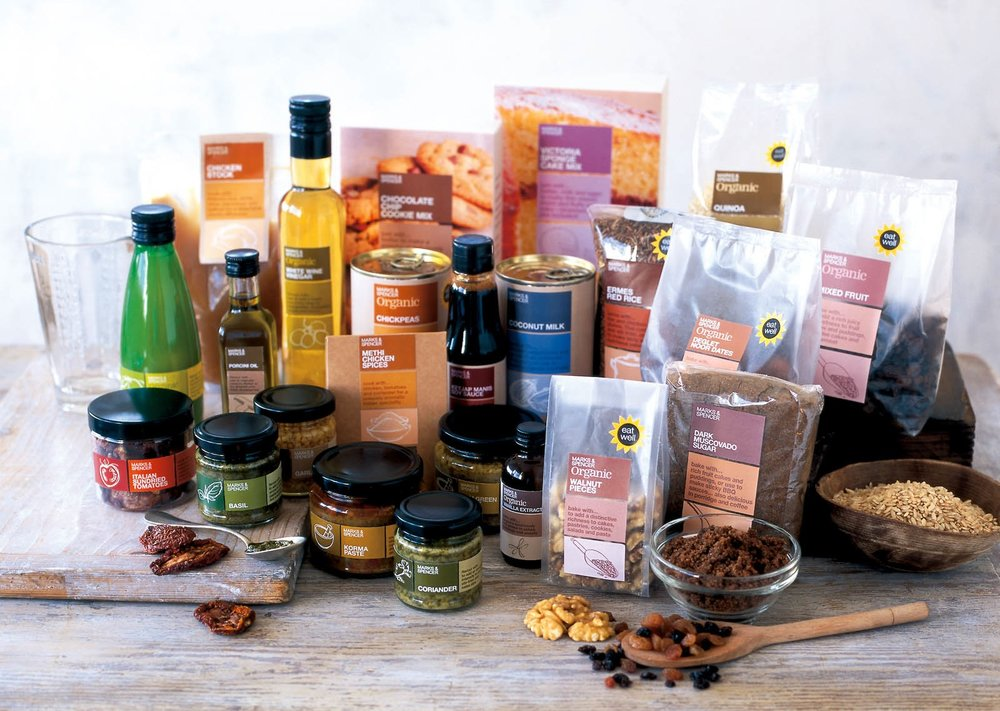Cook's Essentials packaging copy for M&S