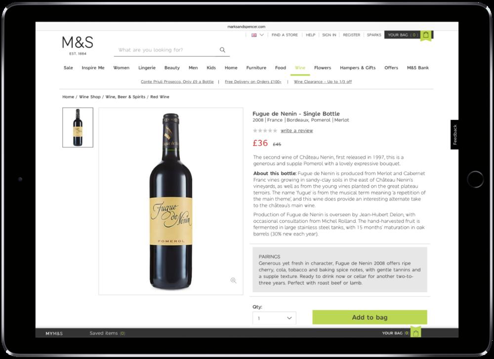 online wine writer