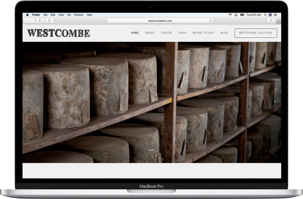 Westcombe Dairy website