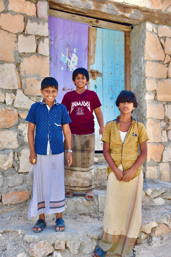 Young Yemeni smiles