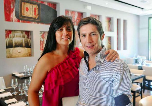 Cristina Ramirez and Mario Lopez, Owners Bianco Rosso