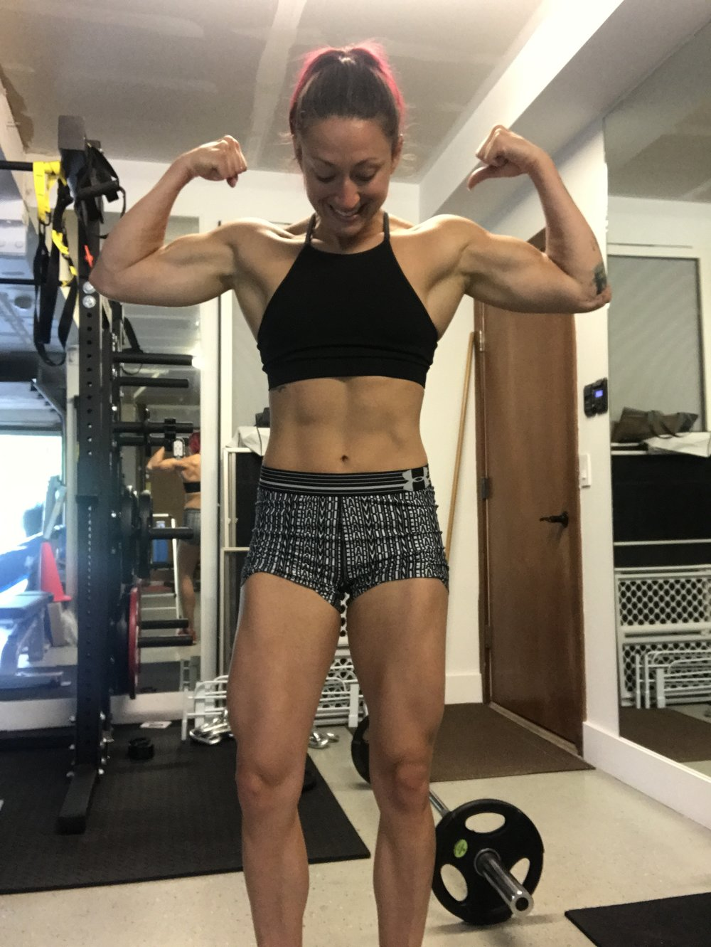 This is not just about a physical transformation. This is about building strength from the inside out and evolving closer towards the best version of me. - .