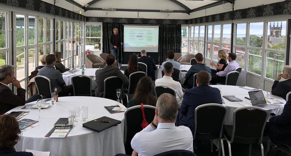 Building Organisational resilience post-GDPR event Edinburgh