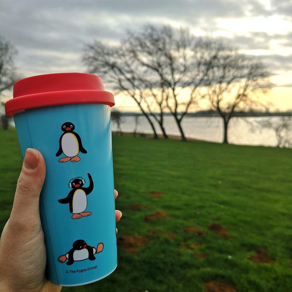 Pingu Travel Mug - £10