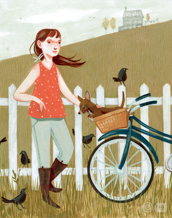 Little Bike & Blackbirds