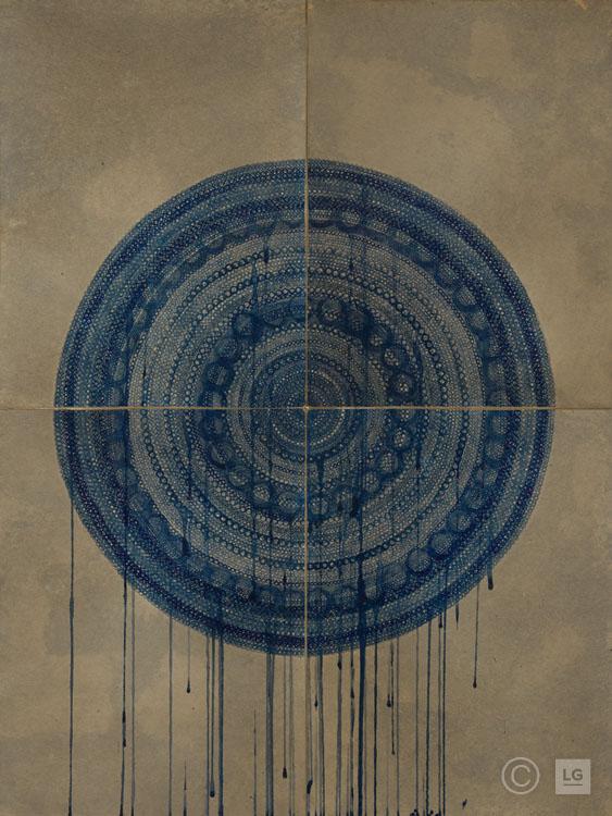 Sisyphus in Blue IV - #MCV82Open EditionStock Size#LAG156: 48