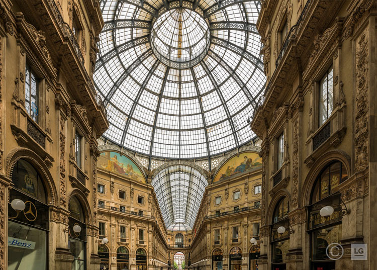 *SOLD* Galleria Vittorio Emanuele II, Milan 1/45