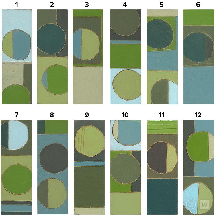 Ricochet - Green Series (12 Individual) - Open EditionStock SizesSmall: 16
