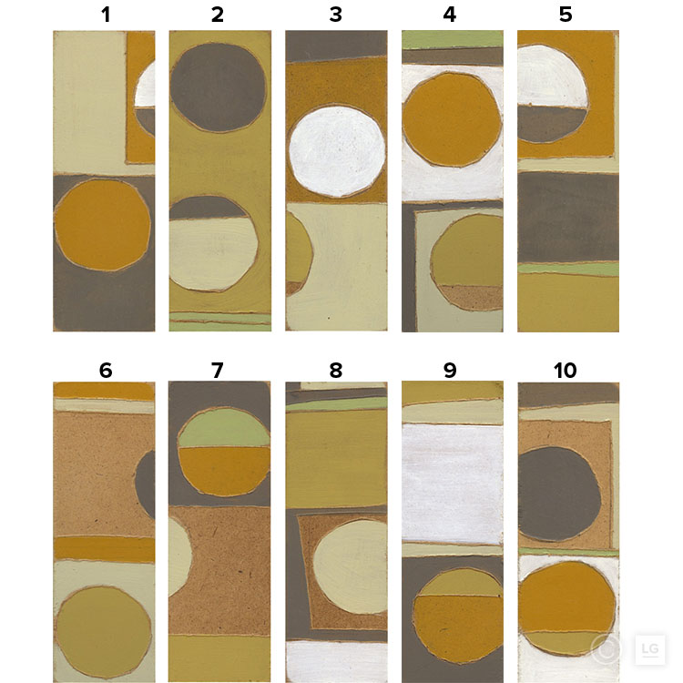 Ricochet - Ochre Series (10 Individual) - Open Edition Stock SizesSmall: 16