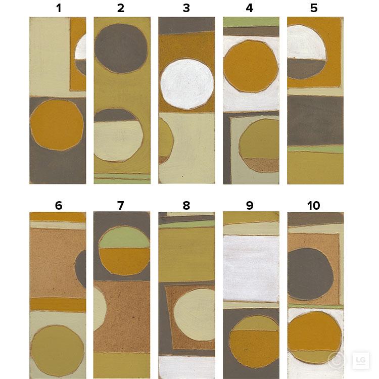 Ricochet - Ochre Series (10 Individual) - Open EditionStock SizesSmall: 16