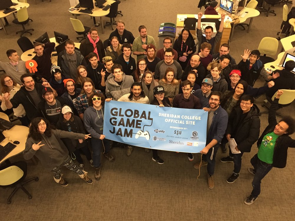 Global Game Jam Sheridan College Site