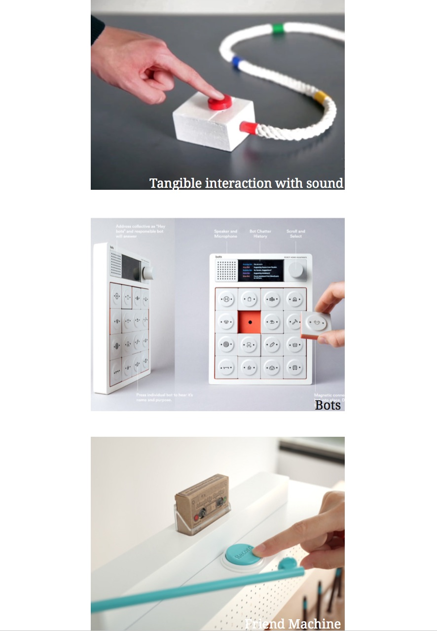 Interactive Tech page from my Design Rationale