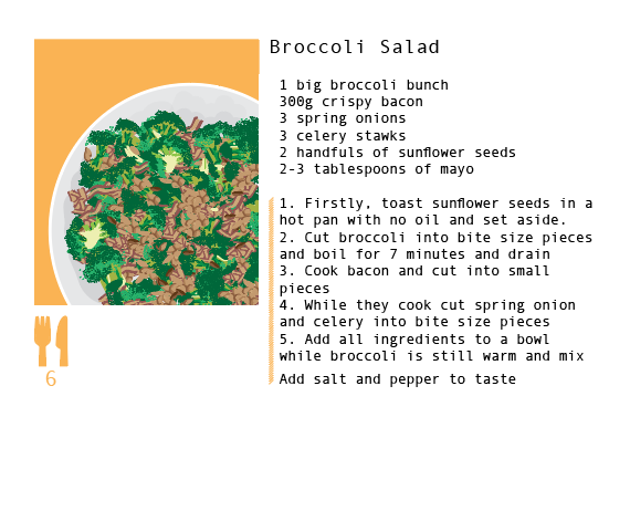 Option for smaller recipes such as sides, full page not needed