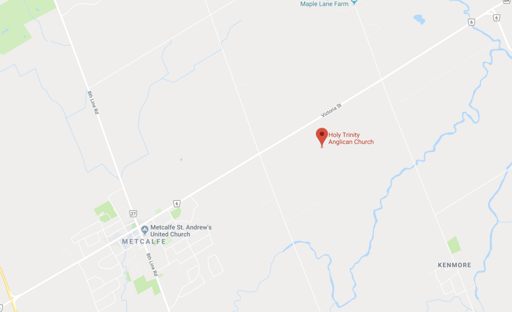 Holy Trinity Metcalfe 8140 Victoria St Metcalfe, ON, K0A 2P0