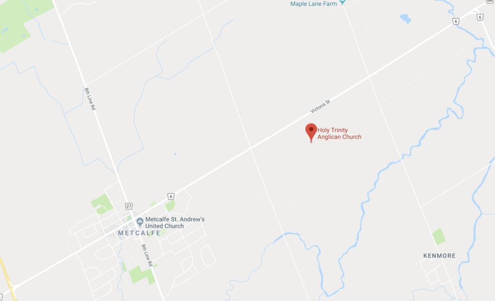 Holy Trinity Metcalfe 8140 Victoria St Metcalfe, ON, K0A 2P0