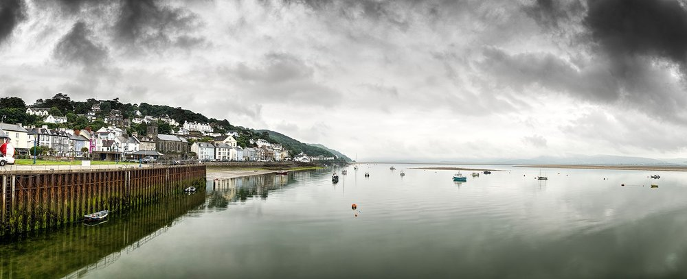 Paul Fowles Photography, Aberdovey Aberdyfi,  The Turning of the Tide – Aberdyfi Harbour in the stillness of the changing early morning tide.jpg