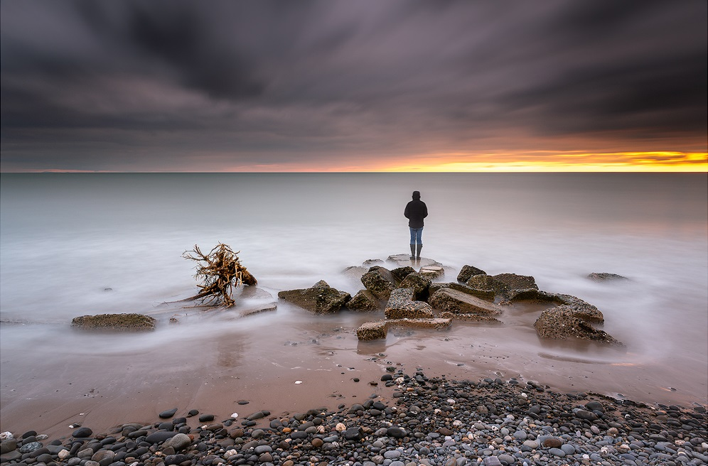 Paul Fowles Photography, Aberdovey Aberdyfi, Watching the Sunset.jpg