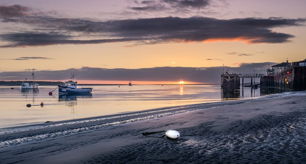 Paul Fowles Photography, Aberdovey Aberdyfi,  New Year Sunset.jpg