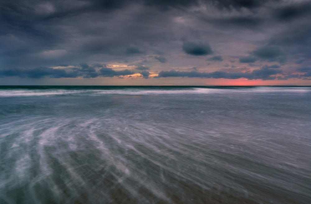 Paul Fowles Photography, Aberdovey Aberdyfi,  Sunset Swirl Lighten.jpg