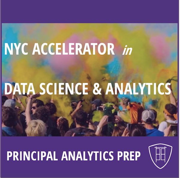 NYC College Accelerator in Data Science & Analytics   Fast-track, hands-on grounding in emerging data science & analytics skills for accomplished college students with ambitious career goal