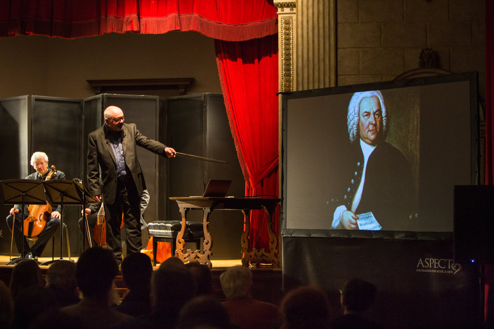 J.S. BACH: THE ART OF FUGUE - APRIL 12, 2018. Italian AcademyFretworkIllustrated talk by Richard BoothbyJ.S. Bach - Art of Fugue