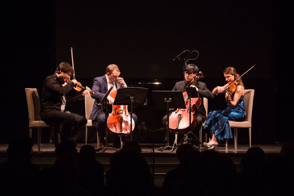 TANEYEV AND ARENSKY: IN TCHAIKOVSKY'S SHADOW  - February 7, 2018. bohemian national hallAlexander Kobrin, pianoPhilippe Quint, violinMilena Pajaro van de Stadt, violaZlatomir Fung, celloBrook Speltz, celloJi in Yang, violiIllustrated talk by Damian FowlerTaneyev - Piano Quintet in G minor, Op. 30Arensky - String Quartet No. 2 in A minor