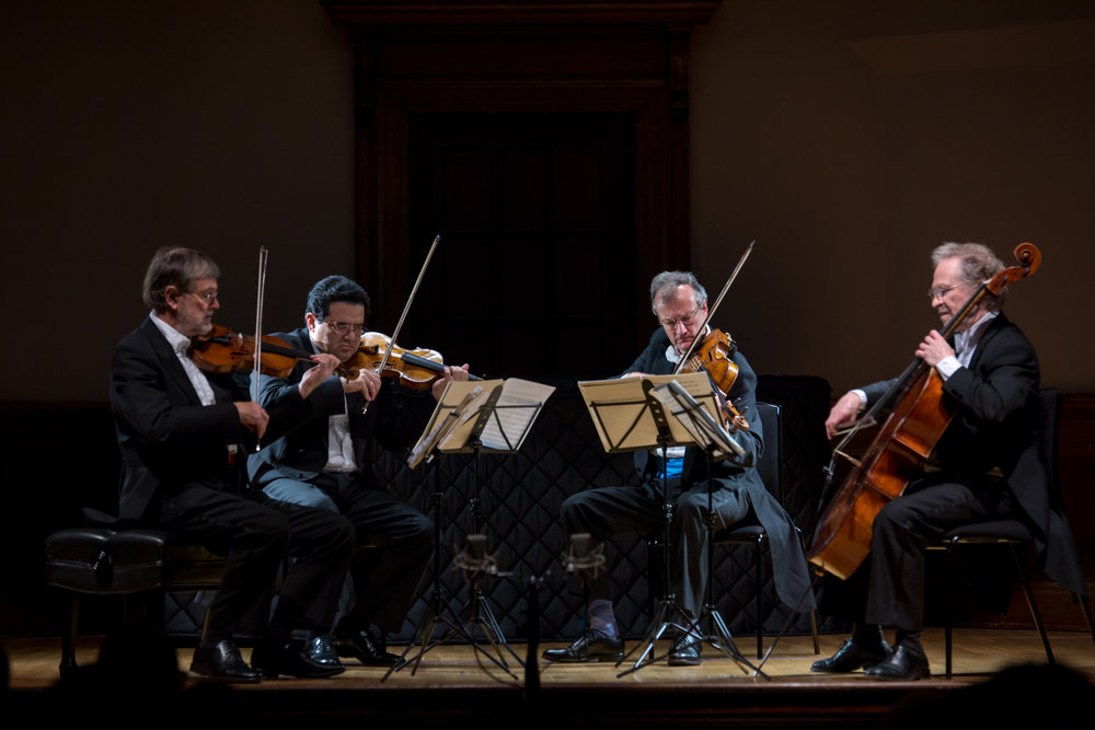 HAYDN, BEETHOVEN, SCHUBERT: KINDRED SPIRITS - OCTOBER 26, 2017. Italian academyEndellion String QuartetIllustrated talk by David WatermanHaydn - String Quartet in G major, Op. 54 No. 1Beethoven - String Quartet No. 12 in E flat major, Op. 127Schubert - Quartettsatz in C minor, D703