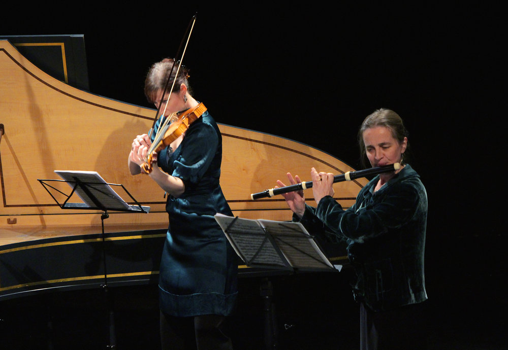 BERLIN: THE AGE OF ENLIGHTENMENT - january 24, 2015. londonRachel Brown, fluteMadeleine Easton, violinRichard Boothby, viola da gambaMahan Esfahani, harpsichordIllustrated talk by Norman LebrechtC.P.E. Bach - Sonata in D major for viola da gamba and harpsichord, Wq. 88Benda - Sonata XI in D major for violin and basso continuoQuantz - Trio Sonata in A minor, QV 2:Anh. 34Frederick II ('the Great') of Prussia - Sonata in C major for flute and basso continuo, SpiF 40J.S. Bach - Trio Sonata in C minor from The Musical Offering, BWV 1079