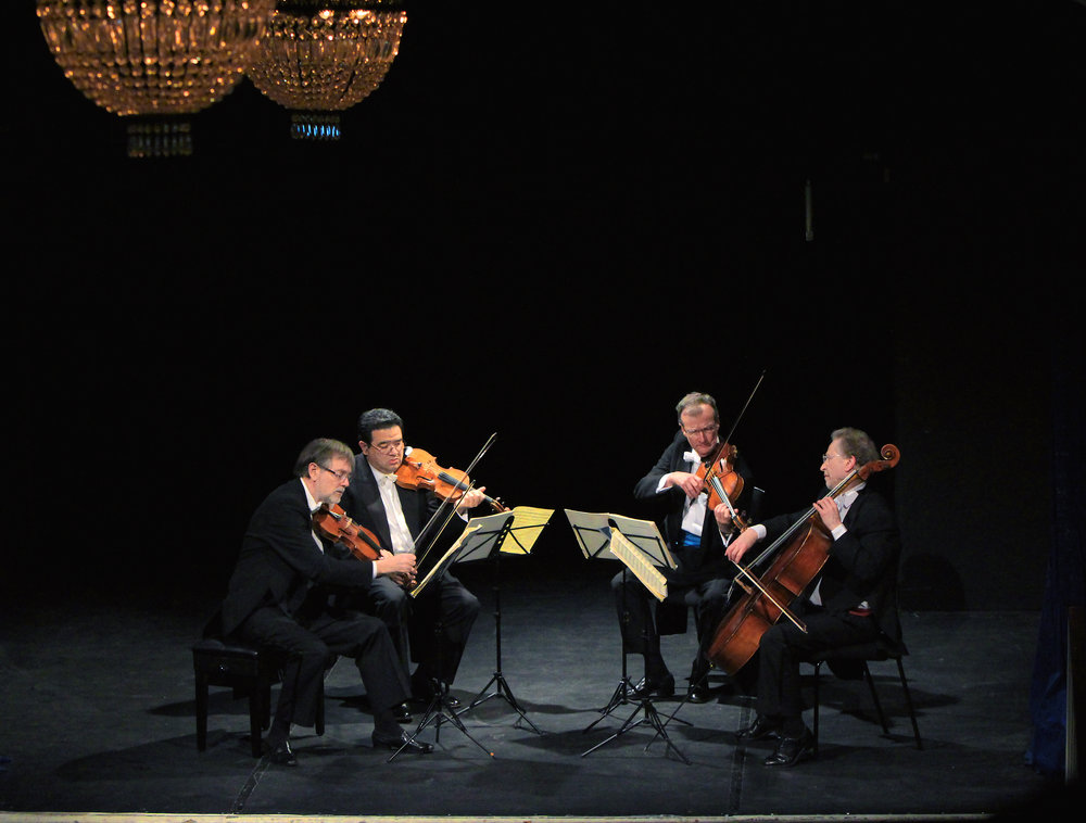 BEETHOVEN. TWENTY-FIVE YEARS OF QUARTET MAKING - february 25, 2015. londonThe Endellion String QuartetPoetry by Ruth PadelBeethoven - String Quartets, Op. 18 No. 6 & Op. 131